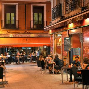 Madrid,Spain-TapasBars