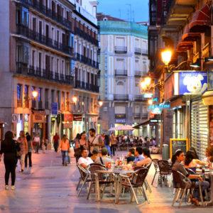 Madrid,Spain-CafeScene