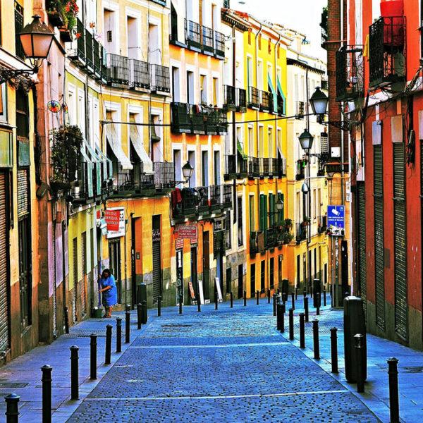 Madrid,Spain-streets