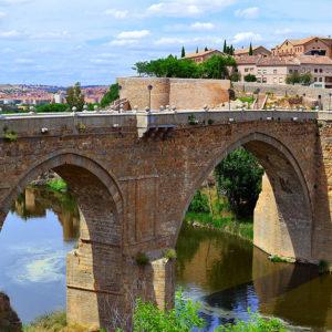 Toledo,Spain-SanMartinBridge